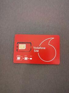 Sim Karte Vodafone 1 Stück aktiviert registriert/ ohne Guthaben