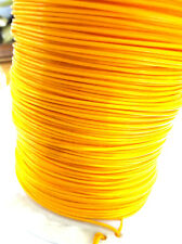10m coil orange PTFE / teflon wire 0.6mm csa 20awg Nexans kz04-07 cable 19/02