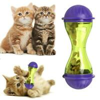 1X Cat Feeder Toy Plastic Funny Pet Dog Treat Food Dispenser Food Toy Hot Sale
