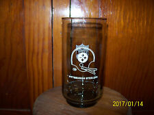 Vintage 1979 Burger Chef NFL Pittsburgh Steelers Collector Glass