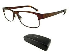 New Spy Optic Miles 52-17-145 Brown Mens Rx Prescription Eyeglass Frames Rt$160