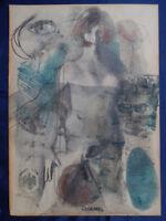 "Bernd ""Otto"" Reulecke MIT GLIED, Papier, 21 x 29 cm, 1967, Berlin"