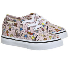 Kids Vans Authentic Toddlers PINK PEANUTS DANCE PARTY 8.0
