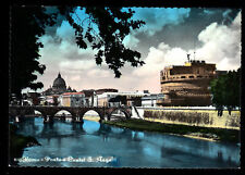 ROMA - PONTE E CASTEL S'ANGELO - NV - ACQUERELLATA