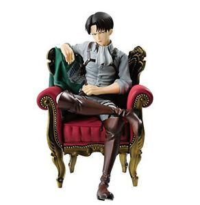 Attack On Titan Rivai Levi·Ackerman Sofa A Prize Statue Ver. PVC Anime Figuren