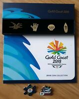 2018 XXI Commonwealth Games Coin And Pin Set