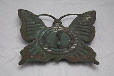 "8"" x &"" Anrea Sadek Butterfly Sundial, French Bronze"