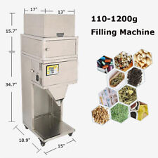Powder Filling Machine Filler Automatic Weighing 10-25 bags/min 10-1200g 110V