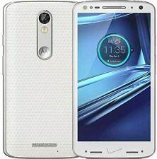 Motorola Droid Turbo 2 Verizon 32GB (GSM Unlocked) 4G VoLTE with ISSUES- White