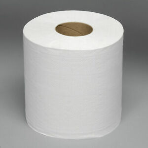Boardwalk White Center Pull Paper Towels, 8in X 10in, 600 Sheets Per Roll, 6400