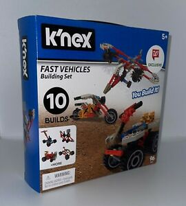 K'NEX Fast Vehicles 10 Build 96 pc Building Set (Walgreens Exclusive)