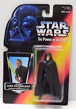 Star Wars POTF Luke Jedi Knight Red Card Kenner 1996 Action Figure NIP
