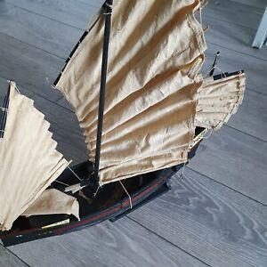 Model Chinese Junk Ship