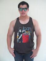 JOAN JETT BLACKHEARTS Rock Punk Music T-Shirt Tank Top Vest Men's Graphic Tee