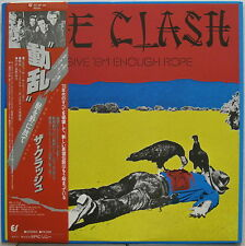 The CLASH Give 'Em Enough Rope 1978 JAPAN ORG LP Minty! PUNK Sex Pistols