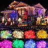 100-600 LED Fairy Lights String Lamps Wedding Party Xmas Tree Decor UK / EU Plug