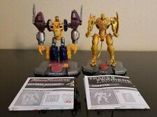Transformers Titanium Lot Optimal Optimus & Cheetor Complete Beast Wars Machines