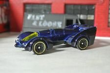 Hot Wheels Batman Live Batmobile Loose - 1:64 - Blue 2017
