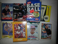 80s and 90s Topps Fleer Score Pinnacle COMPLETE YOUR SET (Pick 25) Baseball Card