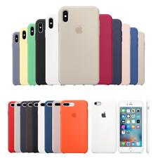 Cover Custodia In Silicone Originale Soft Per Apple iPhone X XR XS Max 7 8 Plus