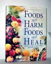 FOODS THAT HARM FOODS THAT HEAL A-Z GUIDE SAFE & HEALTHY EATING by RD 1997 HC