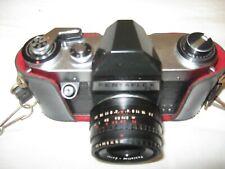 Vintage camera Praktica Pentaflex SL with 50mm f2.8 lens
