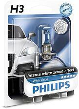 Bombilla Philips WhiteVision H3 3700K 4300K Faros Coche White Vision Xenon Luz