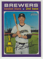 2020 Topps Heritage Hot Box Purple Chrome Pick Your Card Complete Your Set