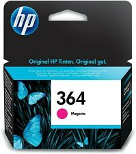 Genuine HP 364 Ink Cartridges Magenta New Unboxed