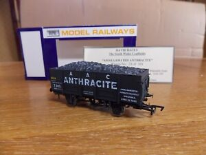 DAPOL LARGE MINERAL WAGON No T.300 AAC ANTHRACITE SWANSEA Livery Limited Edition