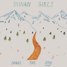 VIVIAN GIRLS Share the Joy LP Mauled by tigers oh sees dum fresh onlys ty segall