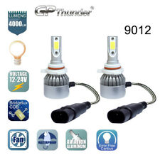 2x 9012 HIR2 LED Headlight Bulb High/Low Beam Kit 72W 6000K Philips Flip Chip