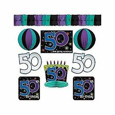 Paper 50th Birthday Party Decorations eBay