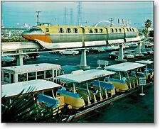 Disneyland Monorail Hotel Yellow Tram Mark II early 1960's Newly Printed Color
