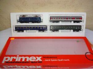 Primex 2799 DB Schnellzug Packung 4-tlg. mit Eletrolok 141 207-1 f.Märklin *OVP*