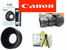 58MM WIDE ANGLE LENS + 8PCS KIT Canon Rebel EOS XS XT XTI XSI T3 T5 1200D 60D T4