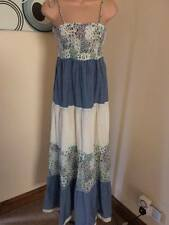 'URBAN ANGEL' ladies cotton summer maxi/gypsy style dress UK SIZE 12 VGC