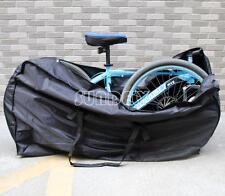 "Brand New Folding Bicycle Bike Carrier Bag Fits 26"" Wheel + Storage Bag"