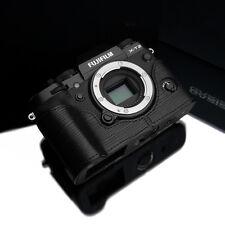 GARIZ Leather Half Case for Fujifilm Fuji X-T2 XT2 XT3 BL-XT2ABK Black