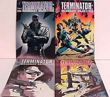 1990s Terminator:Secondary Objectives Comic Book Set of 4-Dark Horse #1-4 UNREAD