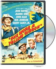 SHE WORE A YELLOW RIBBON JOHN WAYNE JOHN FORD JOANNE DRU JOHN AGAR LIKE NEW DVD
