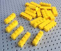Lego Yellow 1x4 Brick (3010) x10 in a set *BRAND NEW* Star Wars City Minecraft