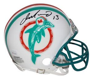 Dan Marino Autographed Miami Dolphins TB 1980-1996 Mini Helmet JSA 29929
