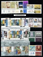 Israel 1992 Complete Year Set of Mint Never Hinged Stamps Full Tabs