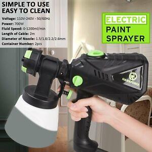 700W Electric Paint Sprayer Airless Handheld HVLP Painting Tool DIY Spray Gun