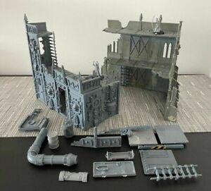 Warhammer 40000 40K Sanctum Imperialised Astra Militarum Terrain + Extras
