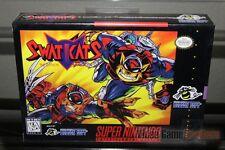 SWAT Kats (Super Nintendo, SNES 1995) H-SEAM SEALED! - EXCELLENT! - ULTRA RARE!