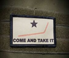 Plastic Straw Come and Take It  Morale Patch Funny Tactical Military Army USA