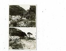 DEVON POST CARD REAL PHOTO OF LYNMOUTH