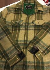 Vintage Towncraft Pennys Plaid Wool Coat Sz Med